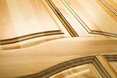 powierzchnia drewnianego Ramy i panelu budowa Zdjęcie Stock