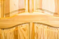 powierzchnia drewnianego Ramy i panelu budowa Obraz Royalty Free