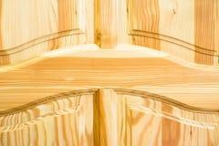 powierzchnia drewnianego Ramy i panelu budowa Obrazy Royalty Free