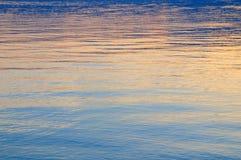 powierzchnia jezior tła Fotografia Royalty Free