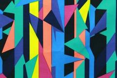 Powierzchnia kolorowe tkaniny i abstraktów wzory Obraz Royalty Free