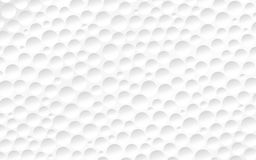 Powierzchnia piłka golfowa Zdjęcie Royalty Free