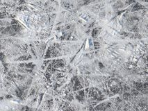 Powierzchnia plenerowy łyżwiarski lodowisko fotografia stock