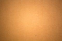 Powierzchnia pudełkowaty brown papier Fotografia Royalty Free