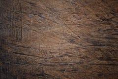 Powierzchnia stary porysowany drewno zdjęcie royalty free