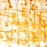Powierzchnia zakrywająca z farba upadkami Zdjęcie Royalty Free