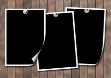 powierzchniowe photoframework drewniane Obraz Stock