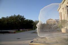 Powierzchowność łąki Muzealne w SMU Dallas obrazy stock
