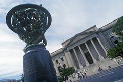 Powierzchowność Benjamin Franklin instytut, Filadelfia, PA Zdjęcie Stock