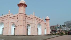 Powierzchowność fasada mauzoleum Bibipari w Lalbagh forcie w Dhaka, Bangladesz zbiory