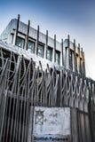 Powierzchowność Holyrood Szkockiego parlamentu budynek w Edynburg Obrazy Stock