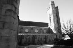 Powierzchowność Invergowrie kościół - Tayside punkty zwrotni Obrazy Royalty Free