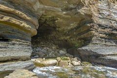 Powierzchowność jama w losie angeles Jolla Kalifornia przy południem Obraz Stock