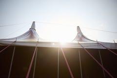 Powierzchowność markiza Przy Plenerowym festiwalem muzyki Fotografia Royalty Free