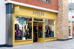 Powierzchowność moda gatunku dżuli sklep obrazy royalty free