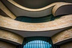 Powierzchowność muzeum narodowe Amerykańsko-indiański w Wa fotografia royalty free