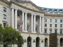 Powierzchowność my agencja ochrony środowiska budynek w Washington obrazy royalty free