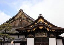 Powierzchowność Ninomaru pałac Nijo kasztel Zdjęcia Royalty Free