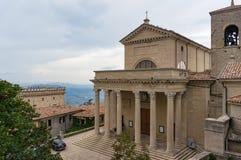 Powierzchowność San Marino kościół Obraz Royalty Free