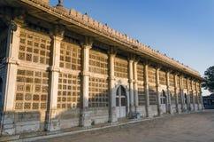 Powierzchowność Sarkhej Roza meczet w Ahmedabad Obrazy Royalty Free