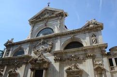 Powierzchowność Savona katedra, Liguria, Włochy Zdjęcie Stock