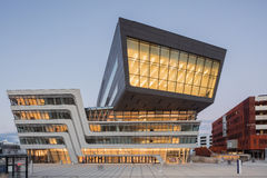 Powierzchowność Wiedeń uniwersytet ekonomie i biznes Zdjęcia Royalty Free