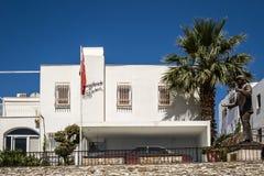 Powierzchowność Zeki Murena muzeum w Bodrum, Turcja Obraz Stock