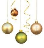 powiesić dekoracje świąteczne Obraz Stock