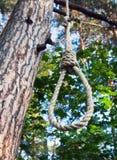 Powieszenia zdjęcie stock