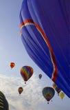powietrze szybko się zwiększać kolorowy gorącego obrazy stock