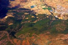 powietrzna fotografia Zdjęcia Stock