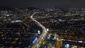Powietrzna fotografia ruch plama kupczy i budynek zdjęcia royalty free