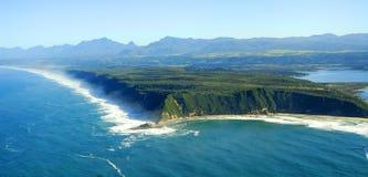 Powietrzna fotografia Sedgefield, Ogrodowa trasa, Południowa Afryka Fotografia Stock