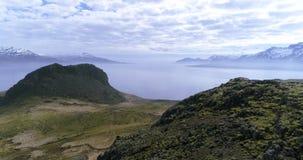 Powietrzna komarnica przy Holmanes UHD 4K trutniem Iceland zdjęcie wideo
