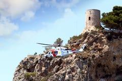 Powietrzna Ratownicza usługa Hiszpański gobernement zdjęcia stock