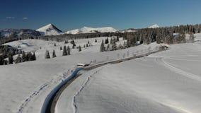 Powietrzne Austria góry na słonecznym dniu zbiory