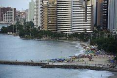Powietrzne fotografie Meireles plaża zdjęcia royalty free