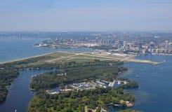 Powietrzne Toronto Wyspy fotografia stock