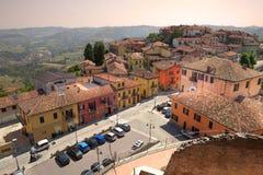 powietrznego alba d diano Italy północny widok obraz royalty free