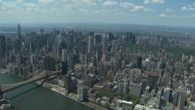 powietrznego miasta nowy widok York zdjęcie wideo