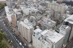 powietrznej bunkyo dzielnica miasta Japan nowożytny linia horyzontu Tokyo widok Obrazy Stock