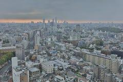 powietrznej bunkyo dzielnica miasta Japan nowożytny linia horyzontu Tokyo widok Obrazy Royalty Free