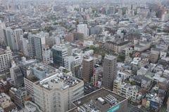 powietrznej bunkyo dzielnica miasta Japan nowożytny linia horyzontu Tokyo widok Obraz Stock