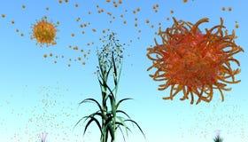 Powietrzni allergens Obraz Royalty Free