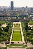 powietrzni czempiony de mącą widok Zdjęcia Royalty Free