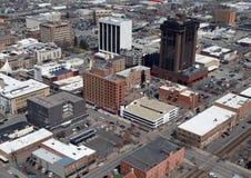 powietrzni fakturowania Montana zdjęcie royalty free