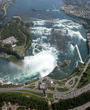 Powietrzni Niagara spadki Obraz Royalty Free