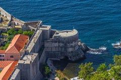 Dubrovnik stary miasteczko obraz royalty free