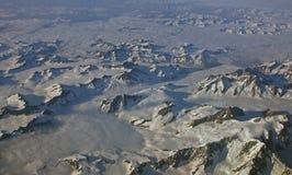powietrzny Alaska zdjęcie royalty free