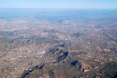 powietrzny Arizona miasta feniksa widok Obraz Royalty Free
